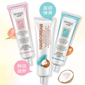 BIOAQUA Coconut Grapefruit Peach Hand Cream Moisture Nourishing Anti Chapping Girl Winter Hand Care Lotion