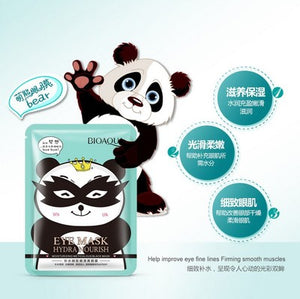BIOAQUA  eye mask moisturizing moisturizing eye bags, dark eye care, really enhance the compact collagen korean cosmetics
