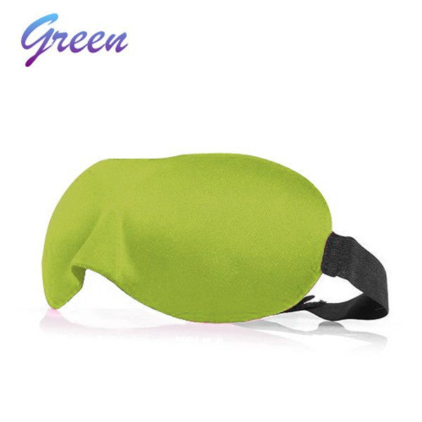 1 PCS HOT SALE 3D Portable Soft Travel Sleep Rest Aid Eye Mask Cover Eye Patch Sleeping Mask Case Makeup Tools