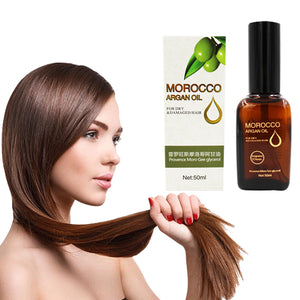 100% Organic Pure  Morocco Argan Oil Treatment for Dry and Damaged Hair, Face and Skin, Nourshing, Moisturizing Hair Conditioner