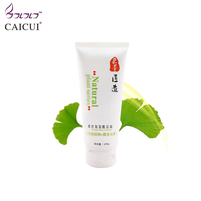 caicui amino acid essence cleansing cream gel clean pores whitening moisturizing face care oil-control plant skin care hydrating