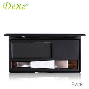 Dark Brown Color Dexe Hair Coloring Products Cover Gray Root Cover Up Hair Color Powder Temporary Hair Dye
