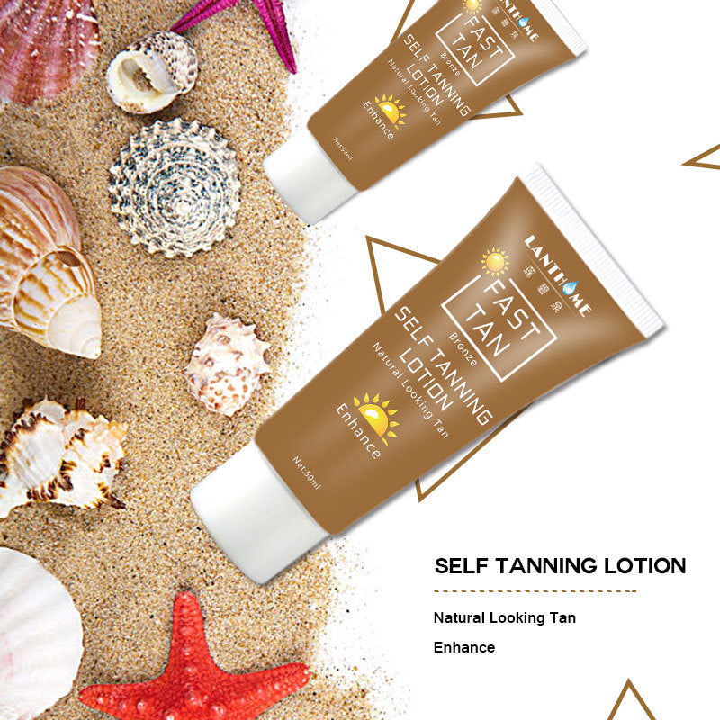 Suntan Cream Color Stay Bronze Self Sun Tan Tanning Enhance Day Tanning Cream Natural Bronzer Sunscreen Tanner Lotion Hot Sale