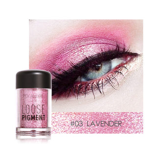 FOCALLURE 12 Colors Glitter Eye Shadow Cosmetics Makeup Diamond Lips Loose Eyes Pigment Powder Woman Cosmetics Make Up Eyeshadow