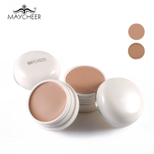 MAYCHEER Brand SPF30 Flawless Cream Concealer Palette Waterproof Oil-Control Amazing Full Cover Face Base Foundation Makeup