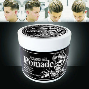 100g Strong Hold Hair Gel Wax For Hair Men Long-lasting Dry Stereotypes Type Hair Balsam Oil Wax For Hair Styling