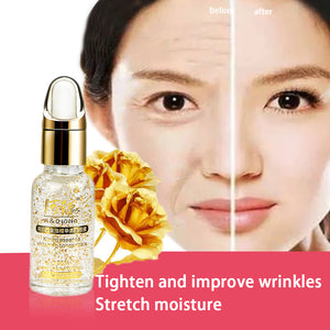 24K Gold Neck Anti Wrinkle Essence Effective Neck Firming Cream For Tighten Skin High-end Neck Skin Care Product