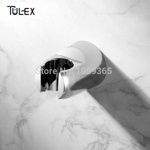 Bathroom Accessories Chrome Plated ABS Shower Head Holder Bracket Stand For Bathroom Use Standard Size  Special offer