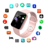 Smart Watch Android & IOS Smart Clock Fitness Tracker With Silicone Band