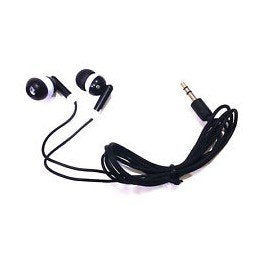 Earbuds Headphones 100 Pack For Iphone, Android, MP3 Player - Black