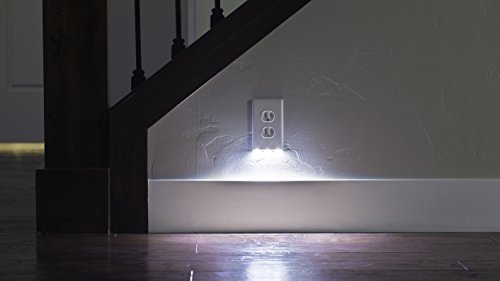LED Outlet Wall Plate Guide Light