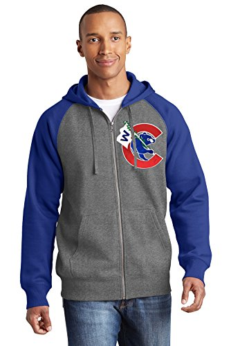 Train Wreck Creations Thats Cub Flying a W Fullzip Hoodie