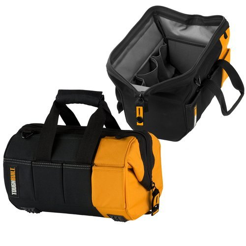 "Massive 12"" Tool Storage Bag with 32 Pockets"