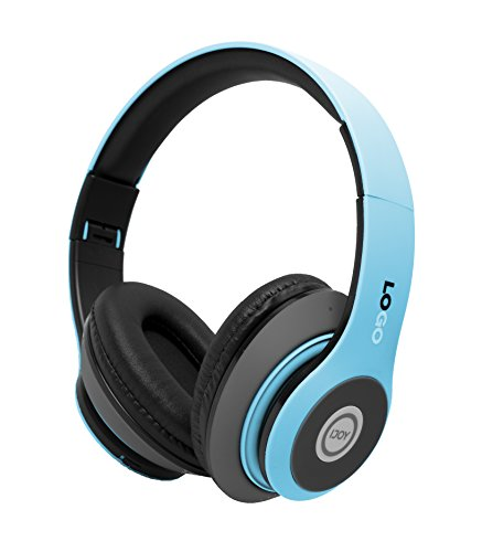 Rechargeable Wireless Bluetooth Foldable Over-Ear Headphones with Mic