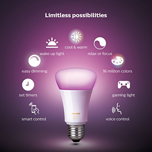 4 Pack: LED Smart Light Bulb Starter Kit