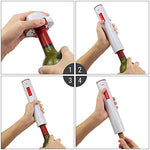 Electric Rechargeable Cordless Corkscrew Wine Opener