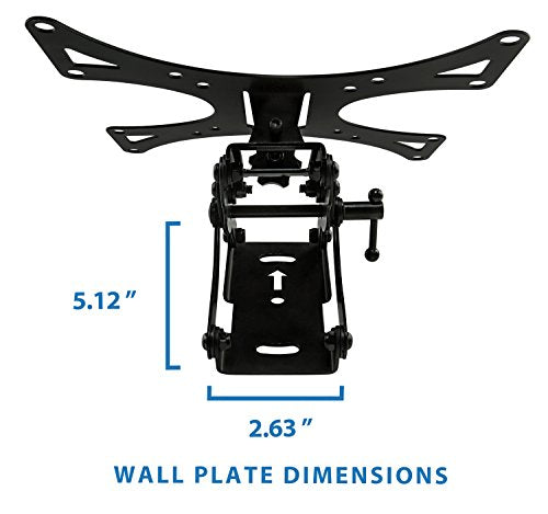 "Full Motion Tilted Articulating 23"" to 42"" LCD TV Wall Mount Bracket - 66 lb. Capacity"