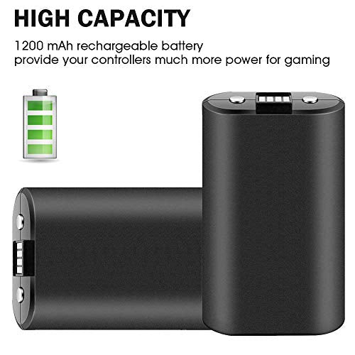 Xbox One Controller Rechargeable Battery Pack Charge Kit