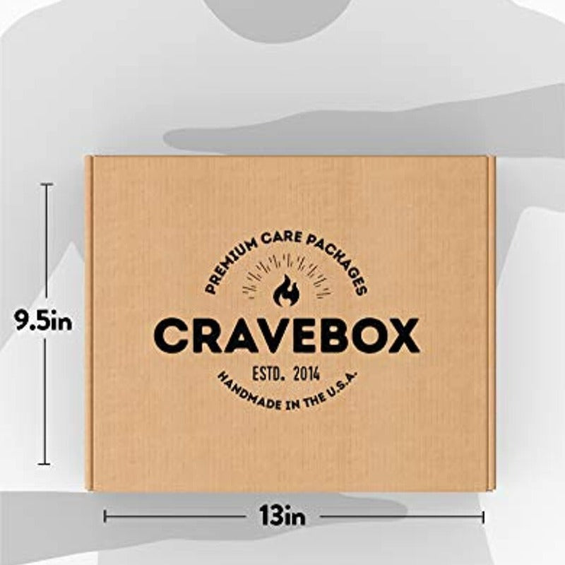 45 Count Crave Box Care Package Ultimate Variety Snacks - Food - Cookies - Chocolate