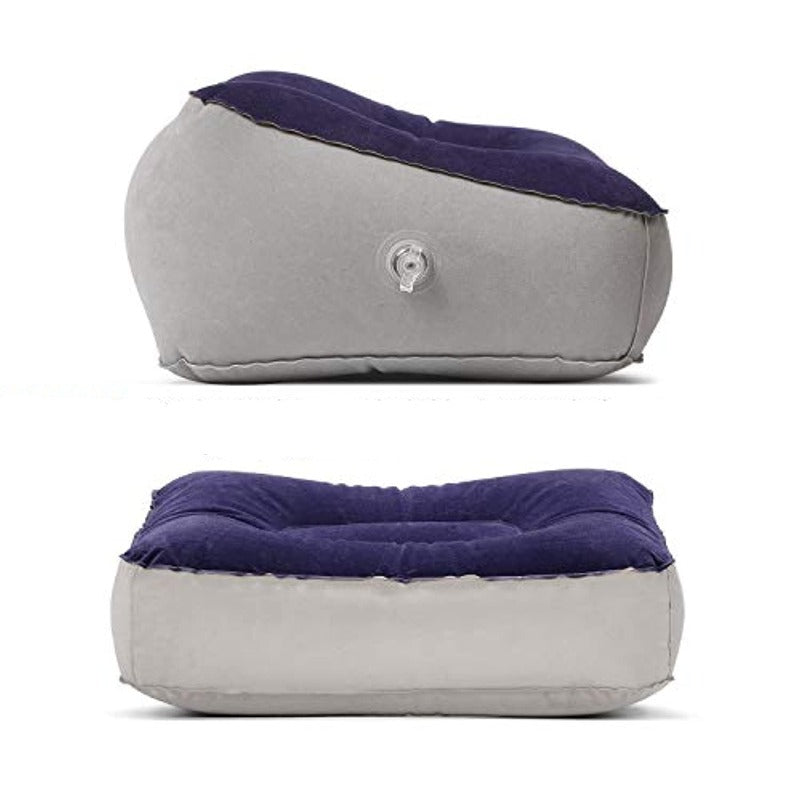 Inflatable Travel Foot Rest Cushion