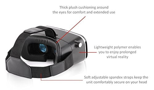 Virtual Reality Headset for Smart Phones with Remote Control