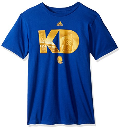 NBA Golden State Warriors Adult Men Initial Landmark Name S/Tee,Medium,Blue