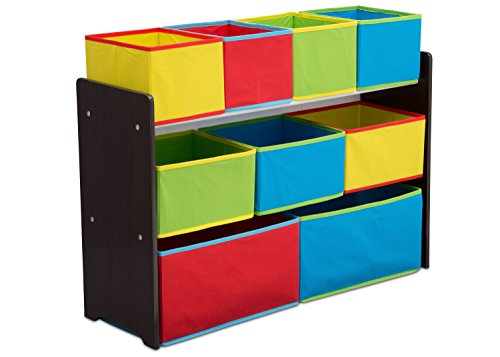 Deluxe Multi-Bin Toy Organizer with Storage Bins