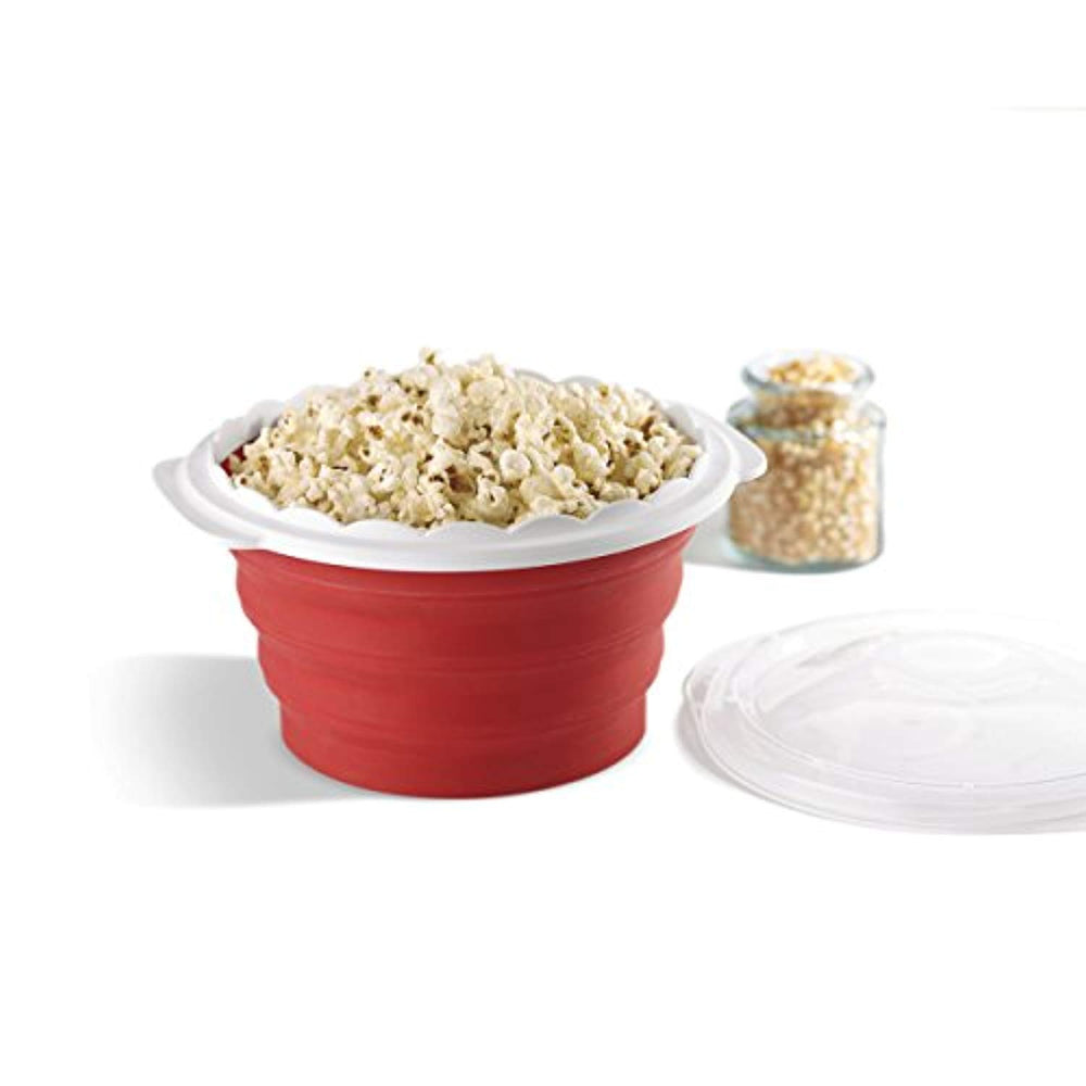 Silicone Pop and Serve Cuisinart Microwave Popcorn Maker