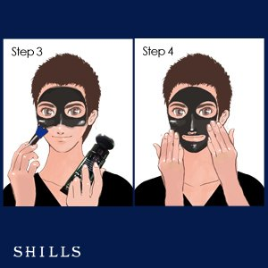Skin Purifying Bamboo Charcoal Facial Mask with Free Charcoal Brush