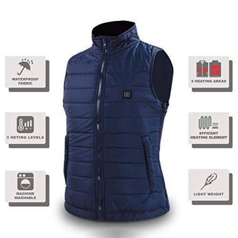 Outdoor Waistcoat USB Electric Heated Thermal Vest