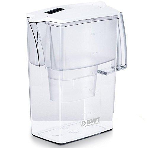 Austrian Quality Compact Water Filter Pitcher, Patented Magnesium Technology for Superior Filtration and Taste (Bonus 60 Day Filter Included) BPAFree