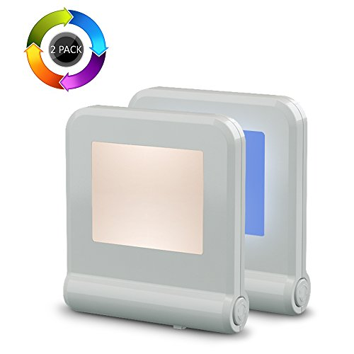 Plug in LED Night Light with Smart Dusk to Dawn Sensor