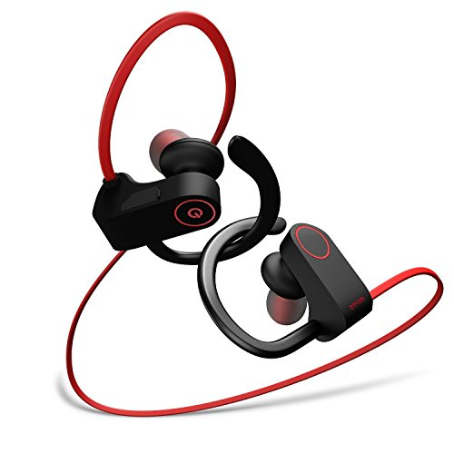 Bluetooth Wireless Sweatproof Sport Headphones with Microphone
