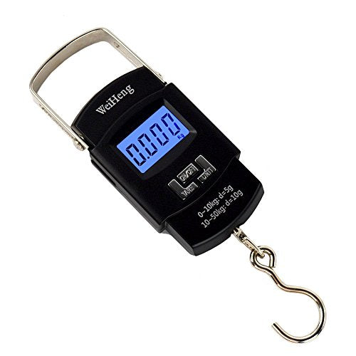 Electronic 110lb / 50kg Digital LCD Hook Scale