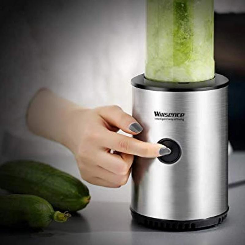 300W BPA Free Stainless Steel Single Serve Blender - Smoothie - Mixer and Free Travel Bottle
