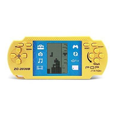 Retro Handheld Gaming Console with 23 Built-In Games