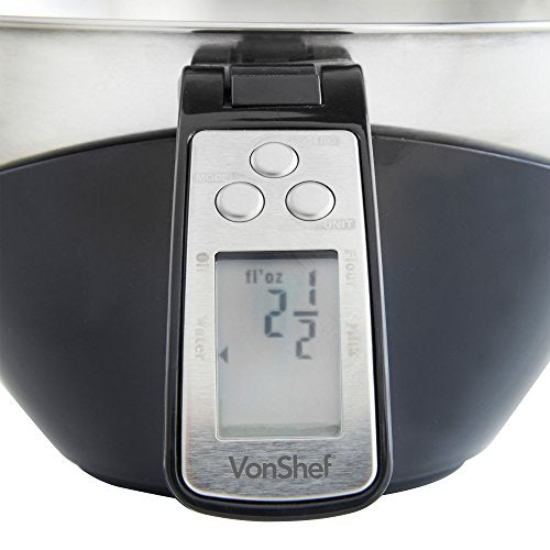 Electronic Digital Food Scale Mixing Bowl