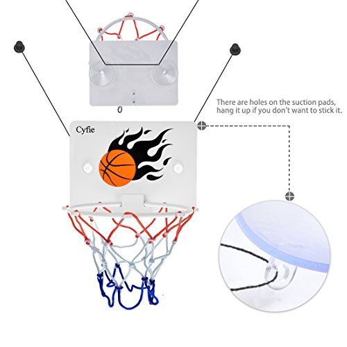 Mini Slam Dunk Basketball Board with 2 Free Mini Basketballs
