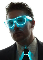 Neon Nightlife Clear Lens Light Up Glasses