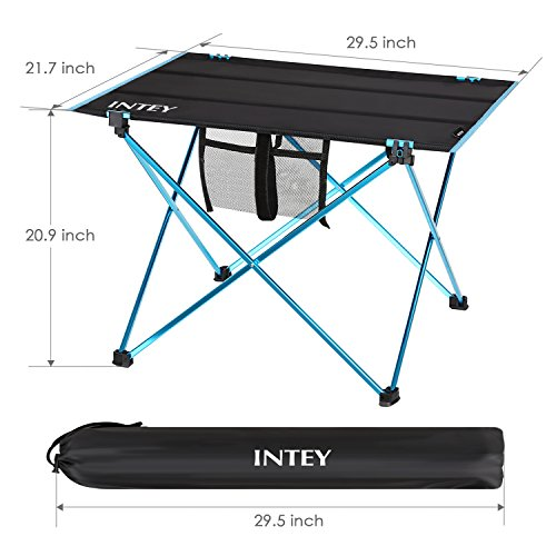 INTEY Folding Picnic Table