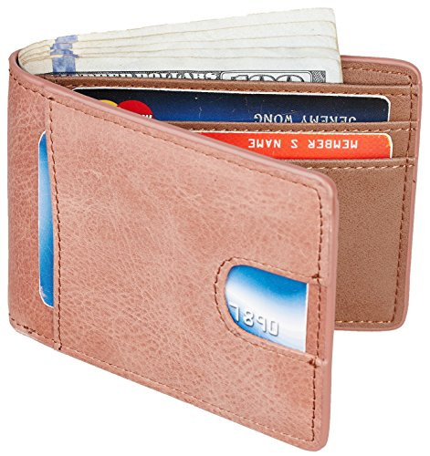 light brown wallet