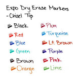 Expo Low-Odor Dry Erase Markers