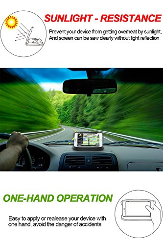 Universal Car Dashboard Cell Phone & GPS Holder Mount