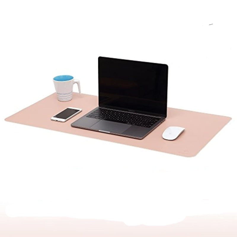 Dual Sided Waterproof Leather Desk Mat