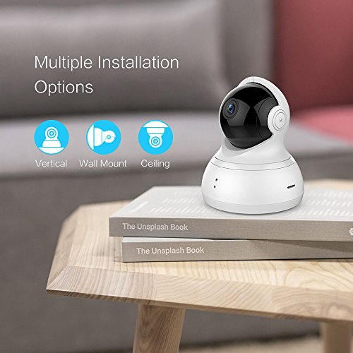 Wireless IP Indoor Security Surveillance 720p HD Night Vision Dome Camera with Remote Monitor