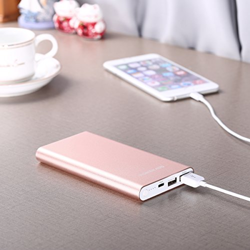 Portable High-Speed USB Lightning 12000mAh Power Bank