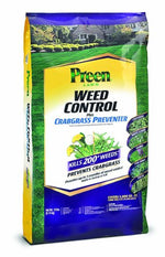 Preen 24-64026 Lawn Weed Control Plus Crabgrass Preventer, 18 lb bag covers 5,000 sq.ft.