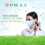 100 Piece: Disposable Face Masks