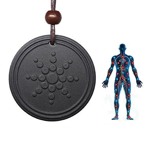 Anti-Radiation Shield EMF Negative Ions Neutralizer Energy Pendant