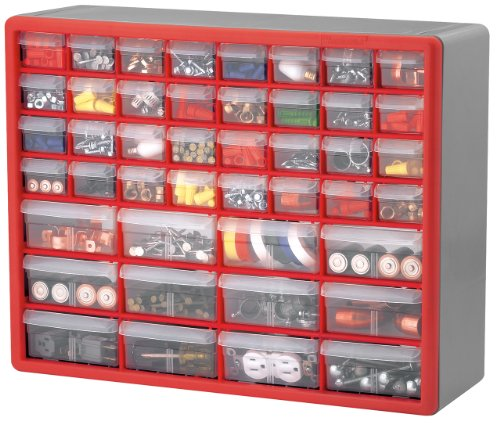 20-Inch by 16-Inch by 6-1/2-Inch Hardware and Craft Cabinet